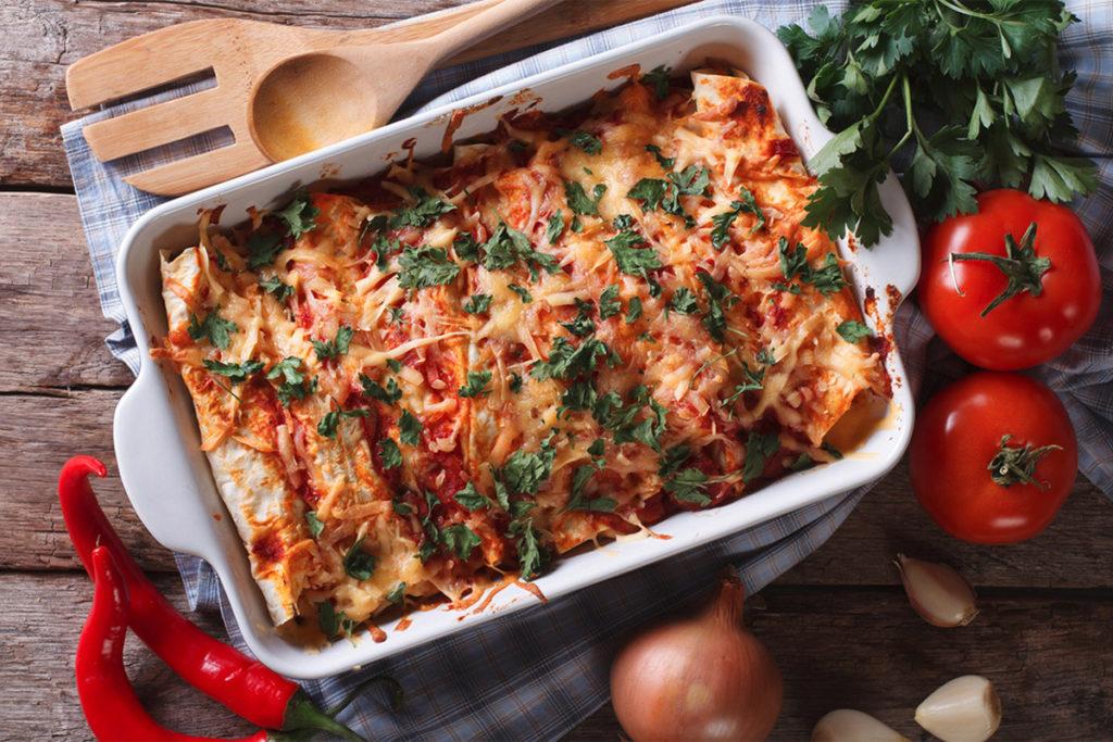 Bison Enchiladas Recipe