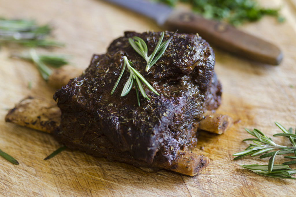 Savory Bison Short Ribs Recipe