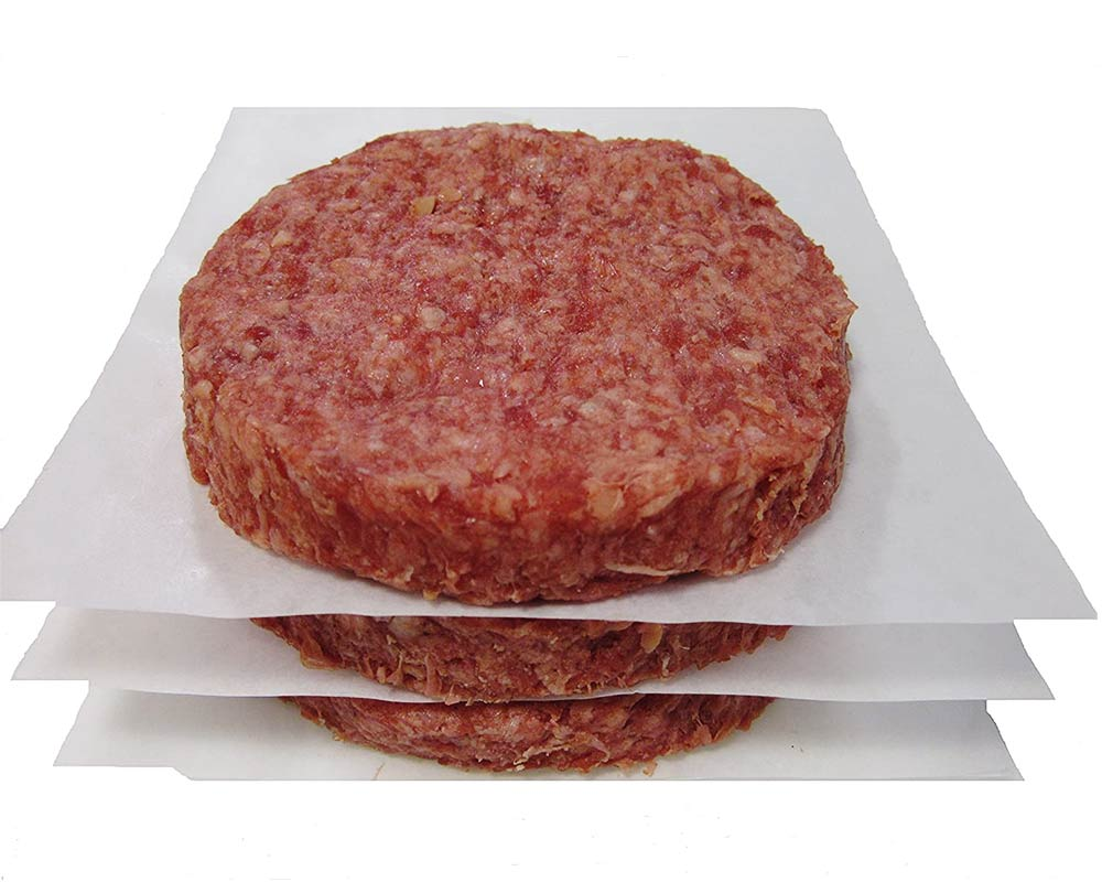 Bison 100% Burgers 5.3 oz (12 packs of 3, count 36)