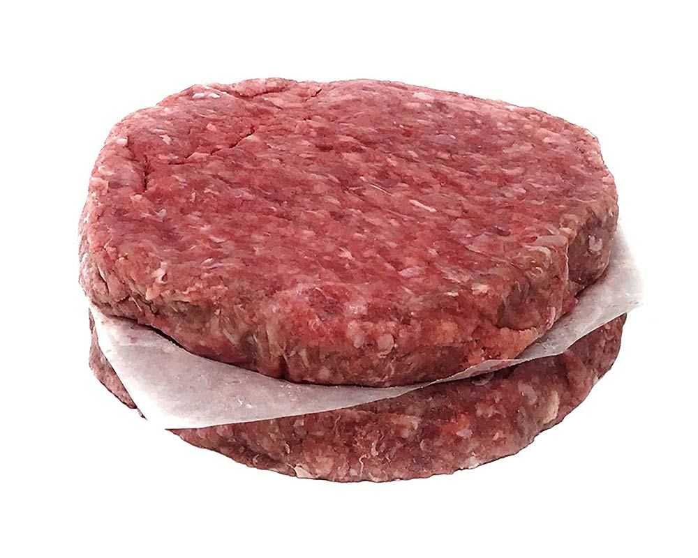 Bison 100% Burgers 8 oz (12 packs of 2, count 24)