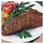 Bison Bone-In NY Strip Center Cut 14 oz Steaks (10 count)