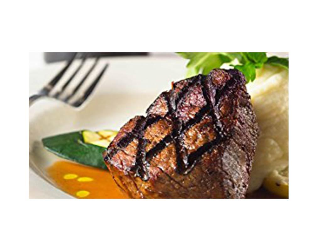 Bison Tenderloin 8 oz Steak (20 count)