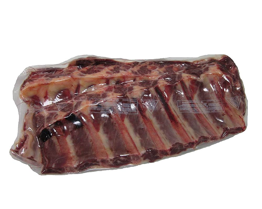 Bison Back Ribs, 2.5 lbs (count 4)