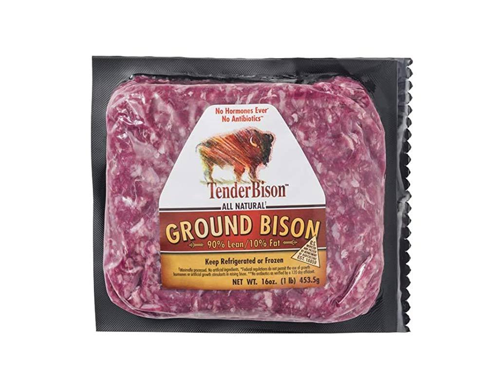 Ground Bison 90% Lean 16 oz (4 count)