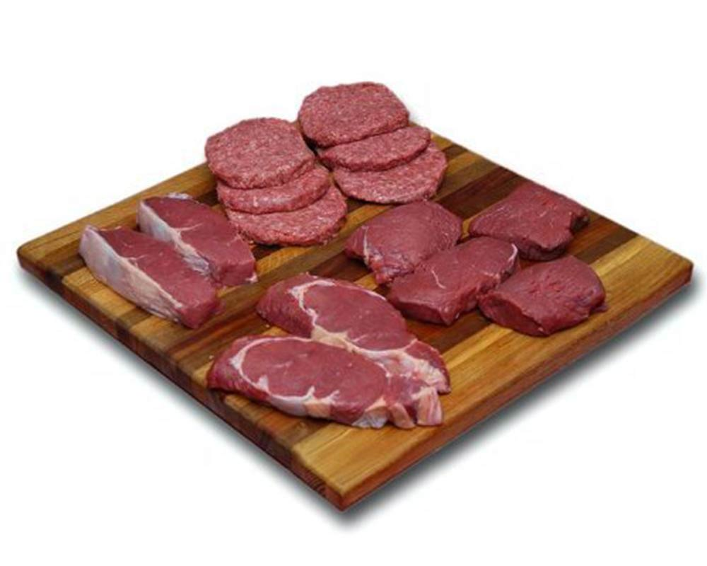 Bison Burgers & Steaks Combo Pack