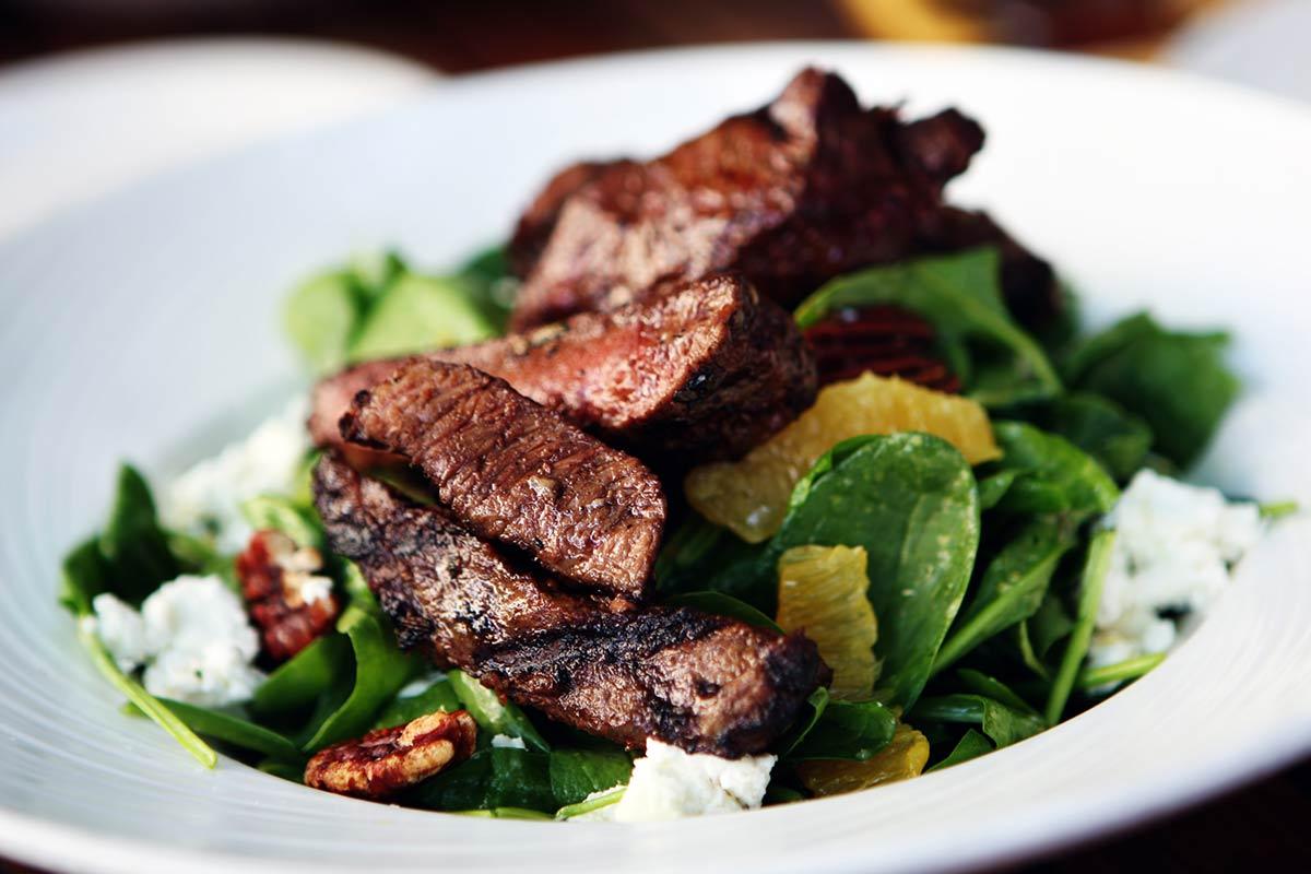 Bison Steak & Citrus Salad